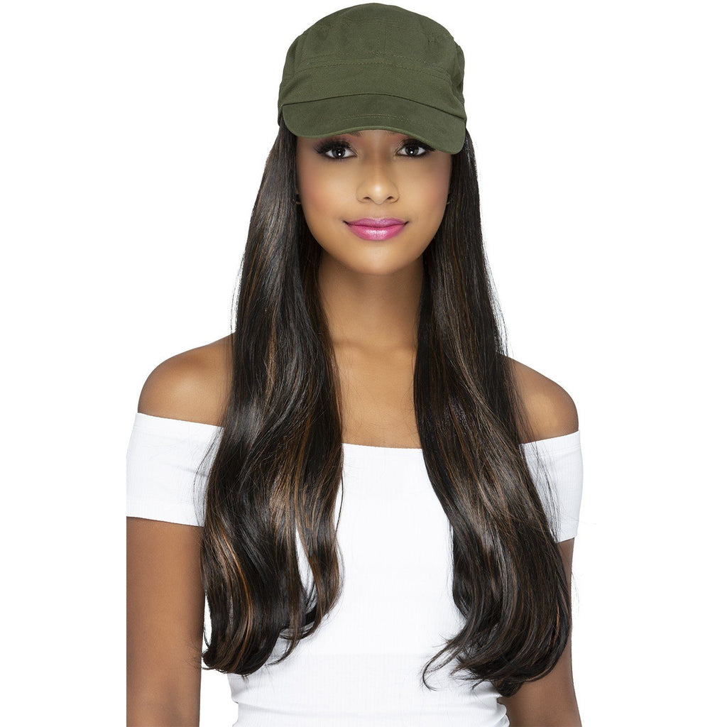 CD-ROMINA | Capdo Hairpiece with Cap