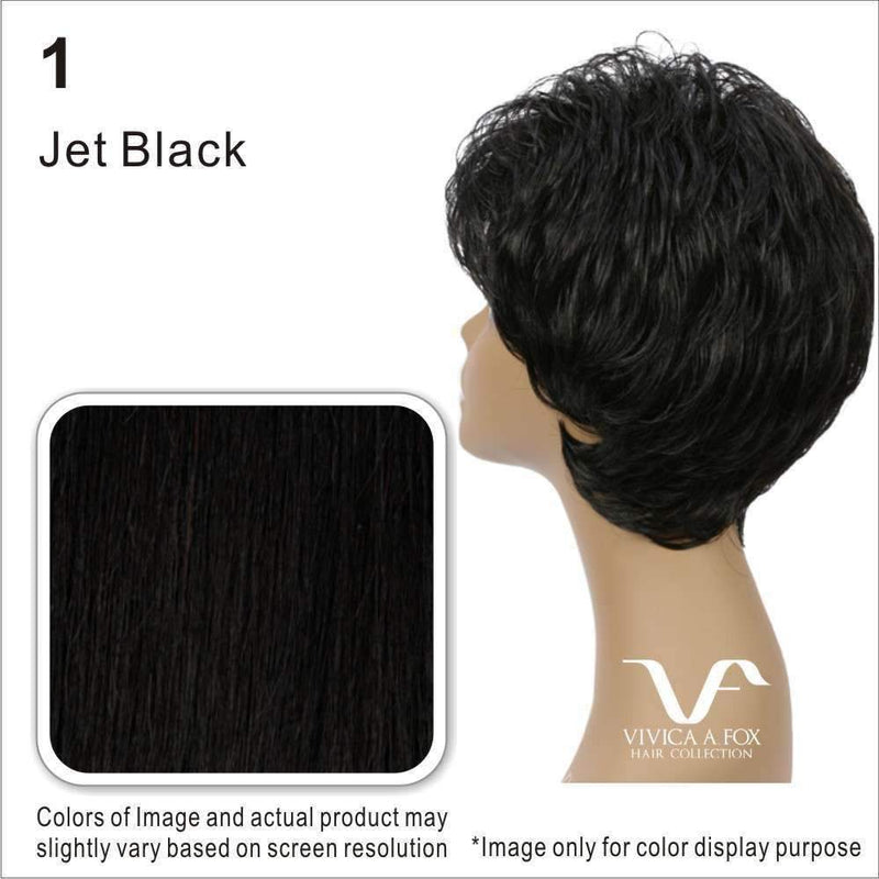 CHANTE-V | Remi Human Hair Wig (Lace Front Traditional Cap) - African American Wigs