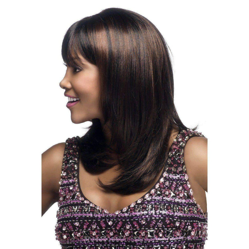 CHARLI-V | Synthetic Heat Resistant Fiber Wig (Traditional Cap) - African American Wigs