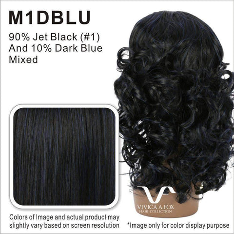 Image of CHILLI-V | Synthetic Heat Resistant Fiber Wig (Lace Front Traditional Cap) - African American Wigs