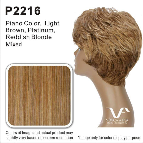 CHILLI-V | Synthetic Heat Resistant Fiber Wig (Lace Front Traditional Cap) - African American Wigs