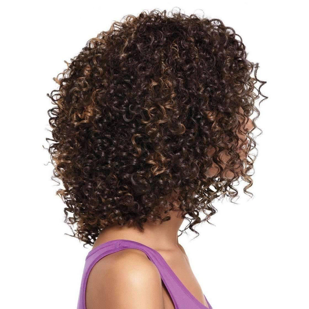 CURL INTENSE | Sherri Shepherd Lace Front Synthetic Wig - African American Wigs