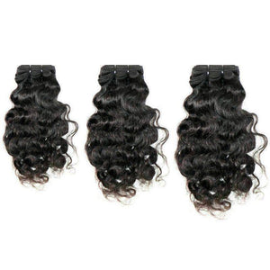Curly Indian Hair Bundle Deal - African American Wigs