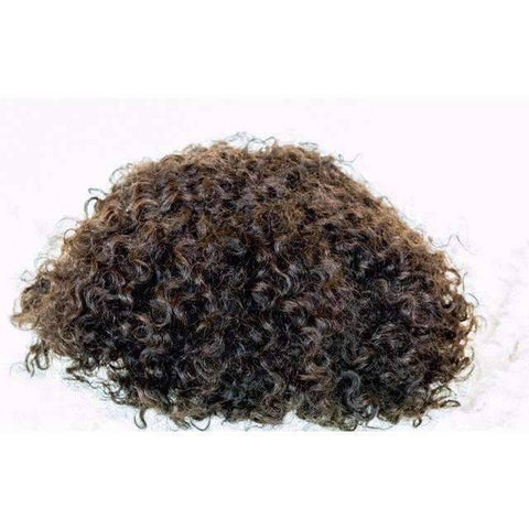 Image of Curly Men Toupee | Man Weave - African American Wigs