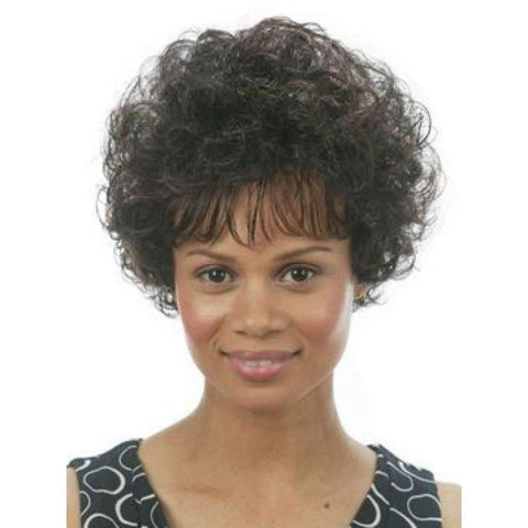 Image of DANTE MOTOWN TRESS SYNTHETIC WIG Color 1B - African American Wigs