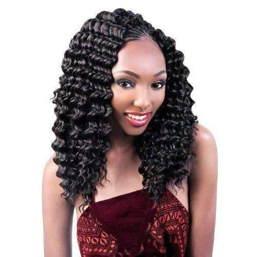 "Deep Twist-18"" Crochet Braiding Hair - African American Wigs"