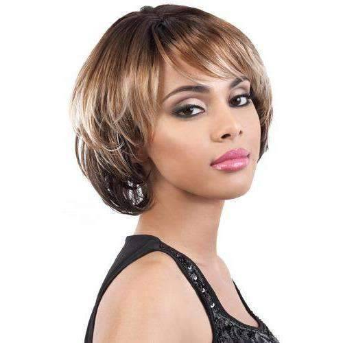 Denver II - Medium Length Wavy Synthetic Wig | Motown Tress | African American Wigs - African American Wigs