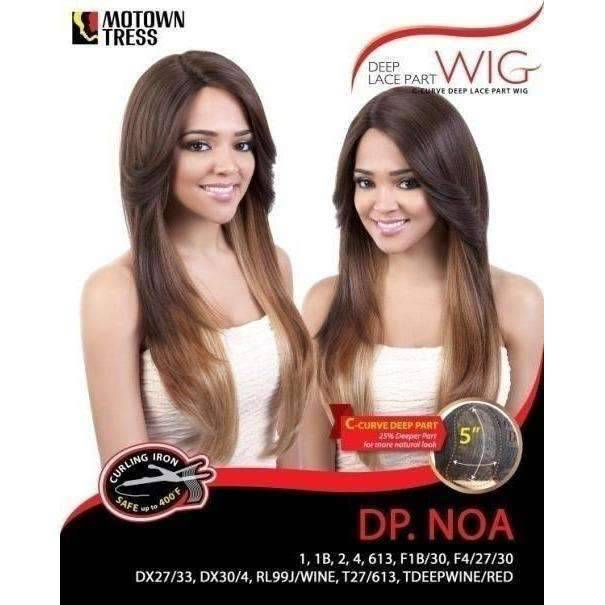 DP. Noa - Long Length Straight Synthetic Wig | Motown Tress | African American Wigs - African American Wigs