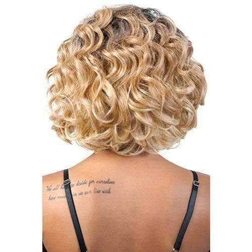 DP. Sola - Medium Length Curly Synthetic Wig | Motown Tress | African American Wigs - African American Wigs