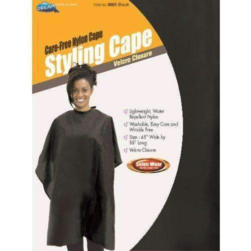 Dream Salon Ware Nylon Styling Cape - African American Wigs