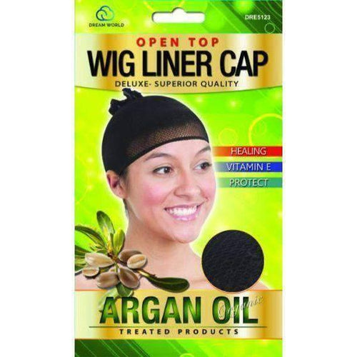 Dream Weaving Net Argan Oil Treated Product Open Top - African American Wigs