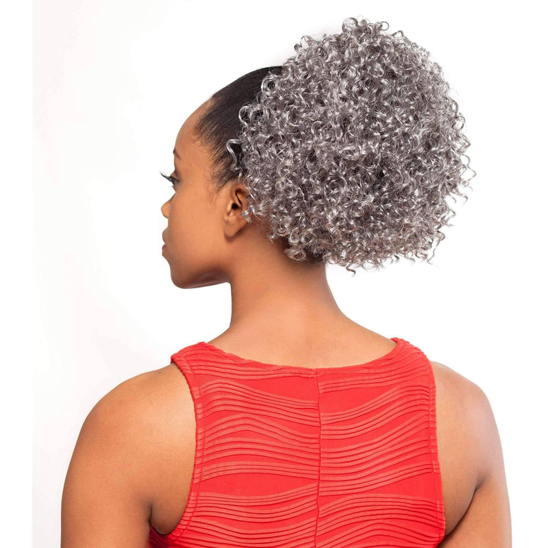 DS05 | Synthetic Drawstring Hairpiece - African American Wigs