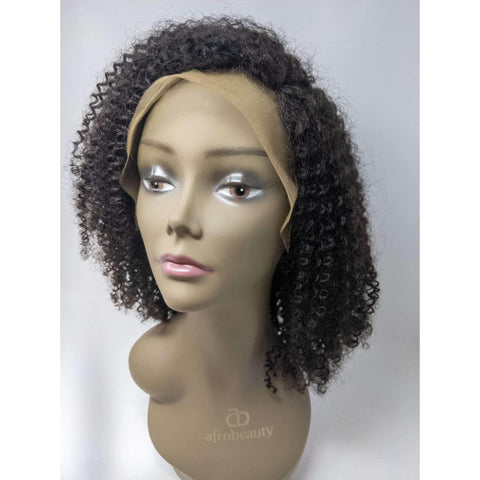 "Image of Ebonee | Kinky Bob 13 X 4"" Frontal Human Hair Wig  