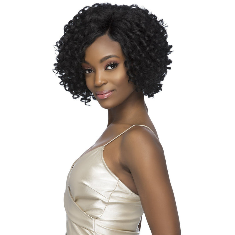 "ELYSIA | 10"" LAYERED TIGHT WAND CURL WITH INVISIBLE SIDE PART"