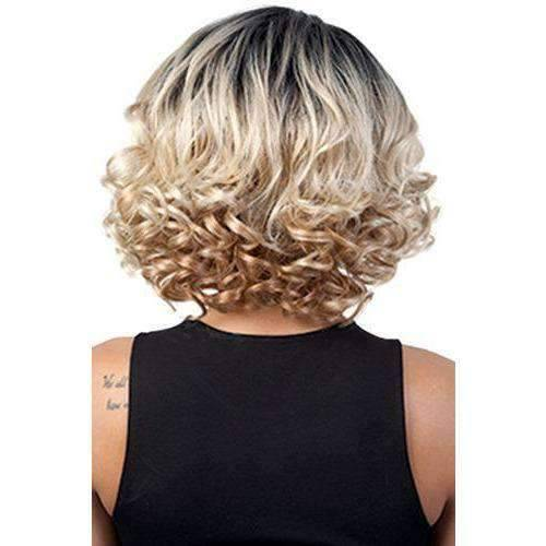 Empire - Medium Length Curly Synthetic Wig | Motown Tress | African American Wigs - African American Wigs