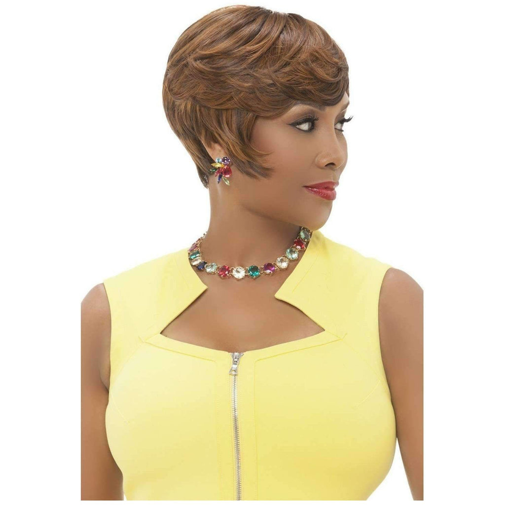 EVA | Synthetic Heat Resistant Fiber Wig (Traditional Cap) - African American Wigs