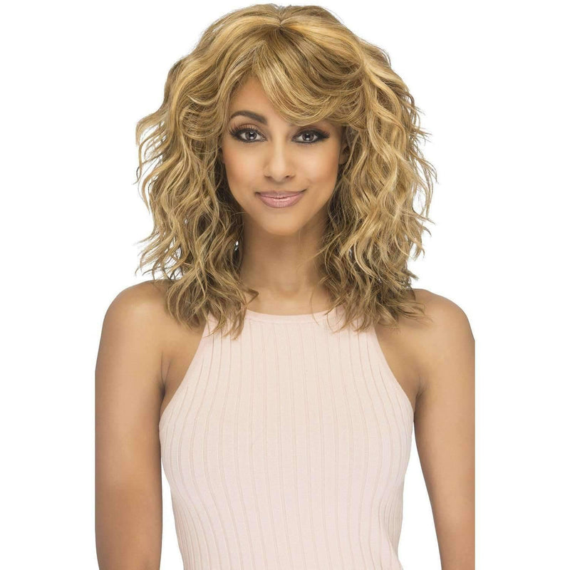 FALLYN Synthetic Lace Front Wig Vivica Fox - Medium Length Wigs