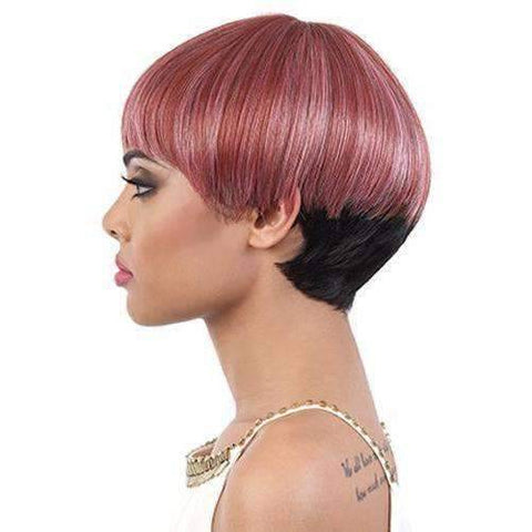 Image of Fanta - Short Length Straight Synthetic Wig | Motown Tress | African American Wigs - African American Wigs