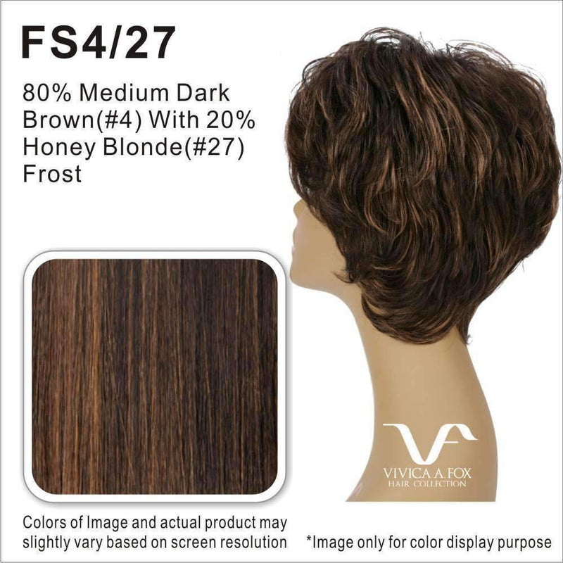 FINN | Synthetic Heat Resistant Fiber Wig (Lace Front Traditional Cap) - African American Wigs