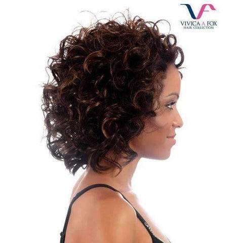Image of Flirt - Vivica Fox Lace Front Synthetic Wig - African American Wigs