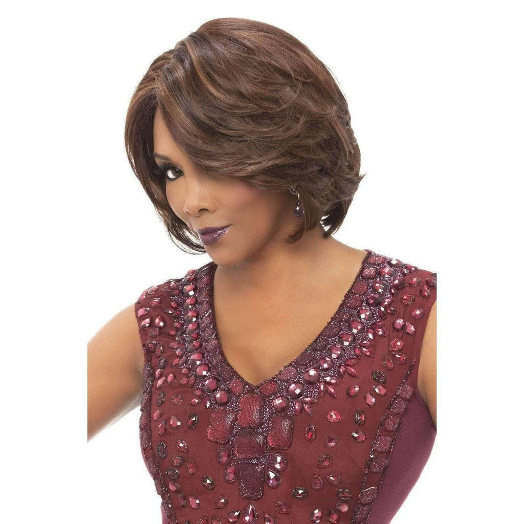 GAIL | Heat Friendly Synthetic Wig (Traditional Cap) - African American Wigs