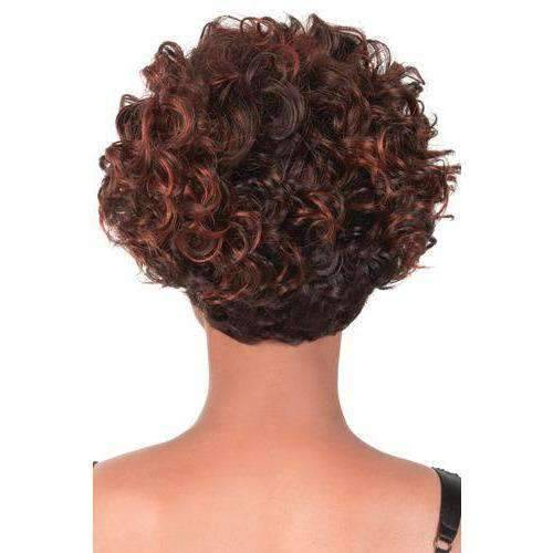 GG-95 - Short Length Curly Synthetic Wig | Motown Tress | African American Wigs - African American Wigs