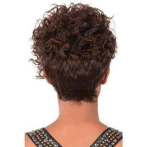 Image of GG-96 - Short Length Curly Synthetic Wig | Motown Tress | African American Wigs - African American Wigs