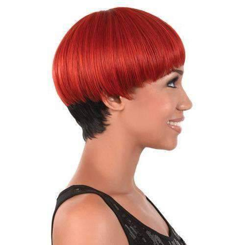 GGC-92 - Short Length Straight Synthetic Wig | Motown Tress | African American Wigs - African American Wigs