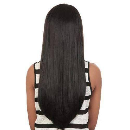 GGC-Gayle - Long Length Straight Synthetic Wig | Motown Tress | African American Wigs - African American Wigs