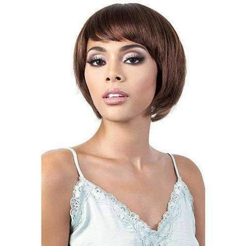 GGH-Jemi - Short Length Straight Human Hair Wig | Motown Tress | African American Wigs - African American Wigs