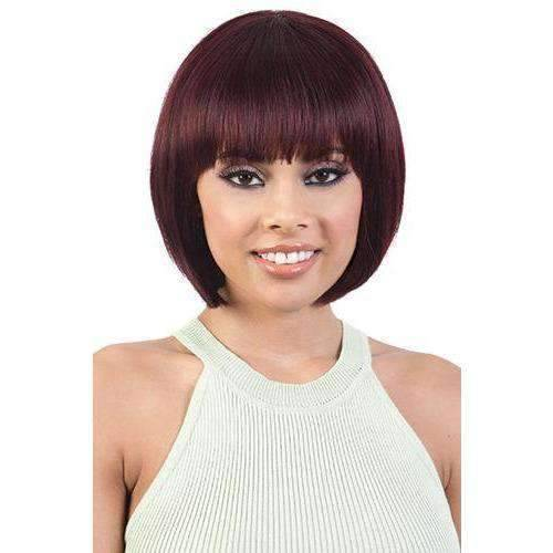 GGH-Maki - Straight Human Hair Medium Length Wigs| Motown Tress