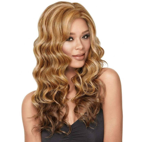 Image of GODDESS WAVES | Sherri Shepherd Lace Front Synthetic Wig COLOR 2 - African American Wigs