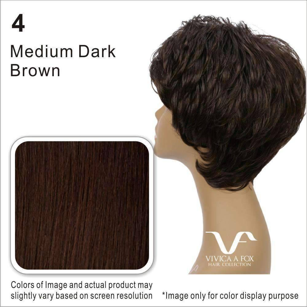 H203 - Vivica Fox Synthetic Wig in Color #4 - African American Wigs