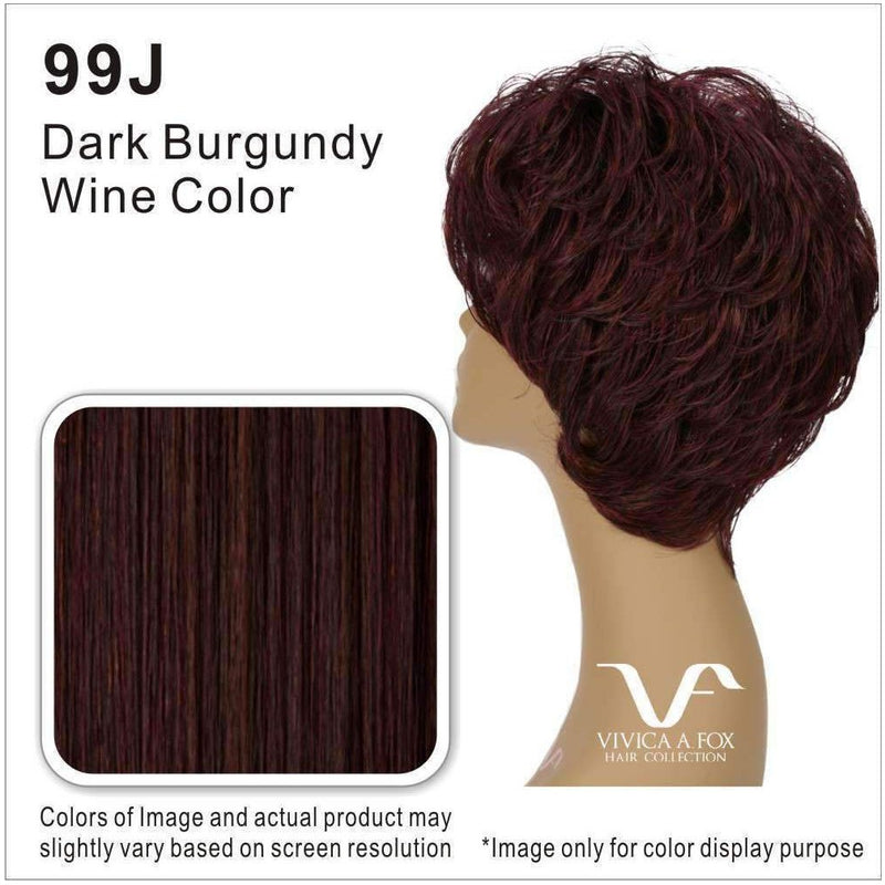 H222-V | 100% Human Hair Wig (Traditional Cap) - African American Wigs