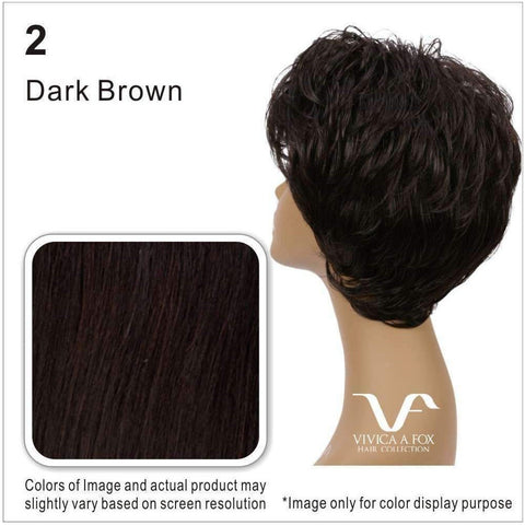H302-V | 100% Human Hair Wig (Traditional Cap) - African American Wigs
