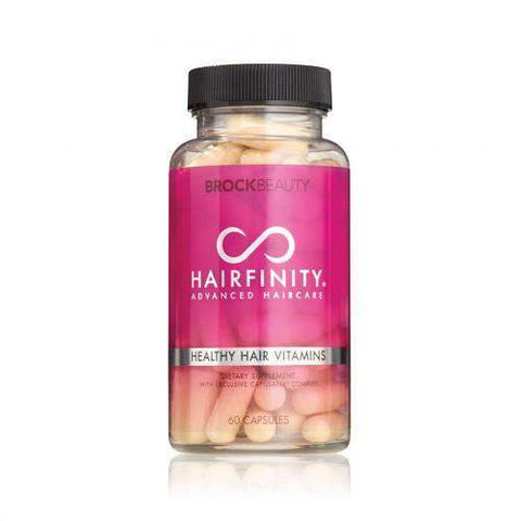 Hairfinity Healthy Hair Vitamins Dietary Supplement Capsules - 60ct - African American Wigs
