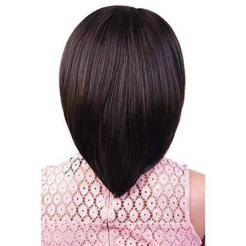 HB-Hara - Long Length Straight Human Hair Blend Wig | Motown Tress | African American Wigs - African American Wigs