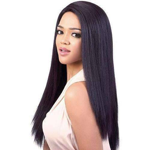 HB-Kari - Long Length Straight Human Hair Blend Wig | Motown Tress | African American Wigs - African American Wigs