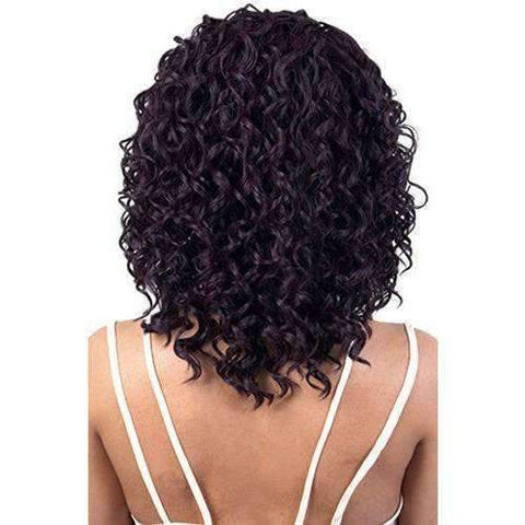 HB-Latifa - Long Length Curly Human Hair Blend Wig | Motown Tress | African American Wigs - African American Wigs
