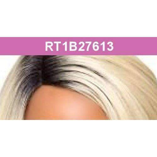 H/B Melina - Foxy Lady J Part Lace Front Human Hair Blend Wig - African American Wigs