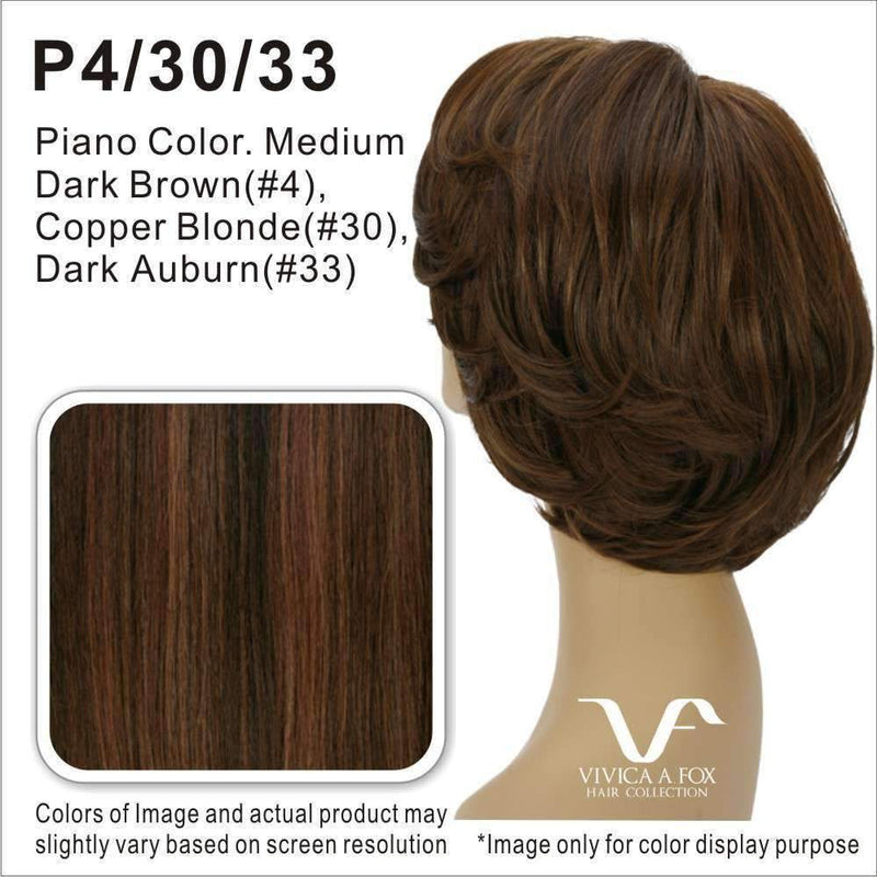 HB1970-V | Synthetic Headband w/ Hair - African American Wigs