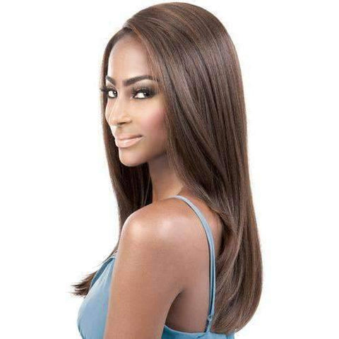 Image of HBDP. Mia - Long Length Straight Human Hair Blend Wig | Motown Tress - African American Wigs
