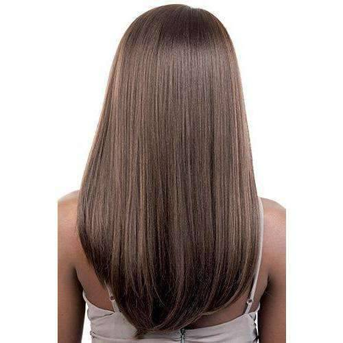 HBDP. Mia - Long Length Straight Human Hair Blend Wig | Motown Tress - African American Wigs