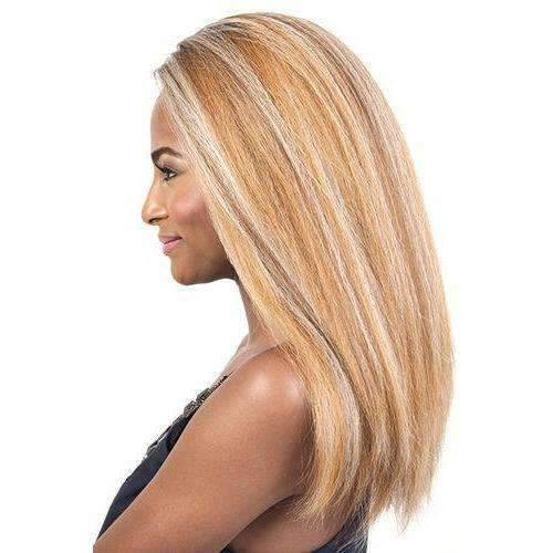 HBLDP.Hue - Long Length Straight Human Hair Blend Wig | Motown Tress | African American Wigs - African American Wigs