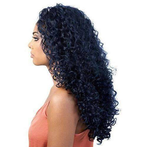 HBL.Elvina - Long Length Curly Human Hair Blend Wig | Motown Tress | African American Wigs - African American Wigs