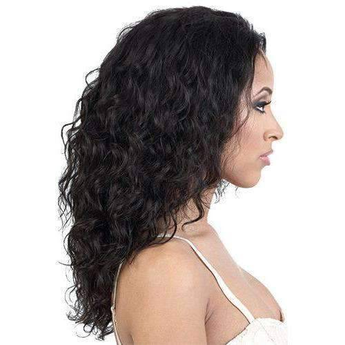HBR-L.Faye - Long Length Curly Human Hair Wig | Motown Tress | African American Wigs - African American Wigs