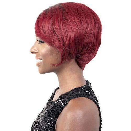 HBR LSP. 02 | Brazilian Remy Human Hair Wig (Lace Front Traditional Cap) - African American Wigs