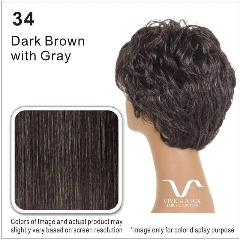 HH-CARITA-V | 100% Human Hair Wig (Traditional Cap) - African American Wigs