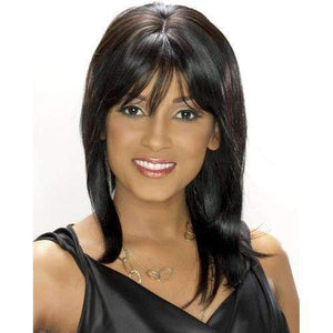 H/H DIVA - Carefree Human Hair in Color #F4/30 - African American Wigs