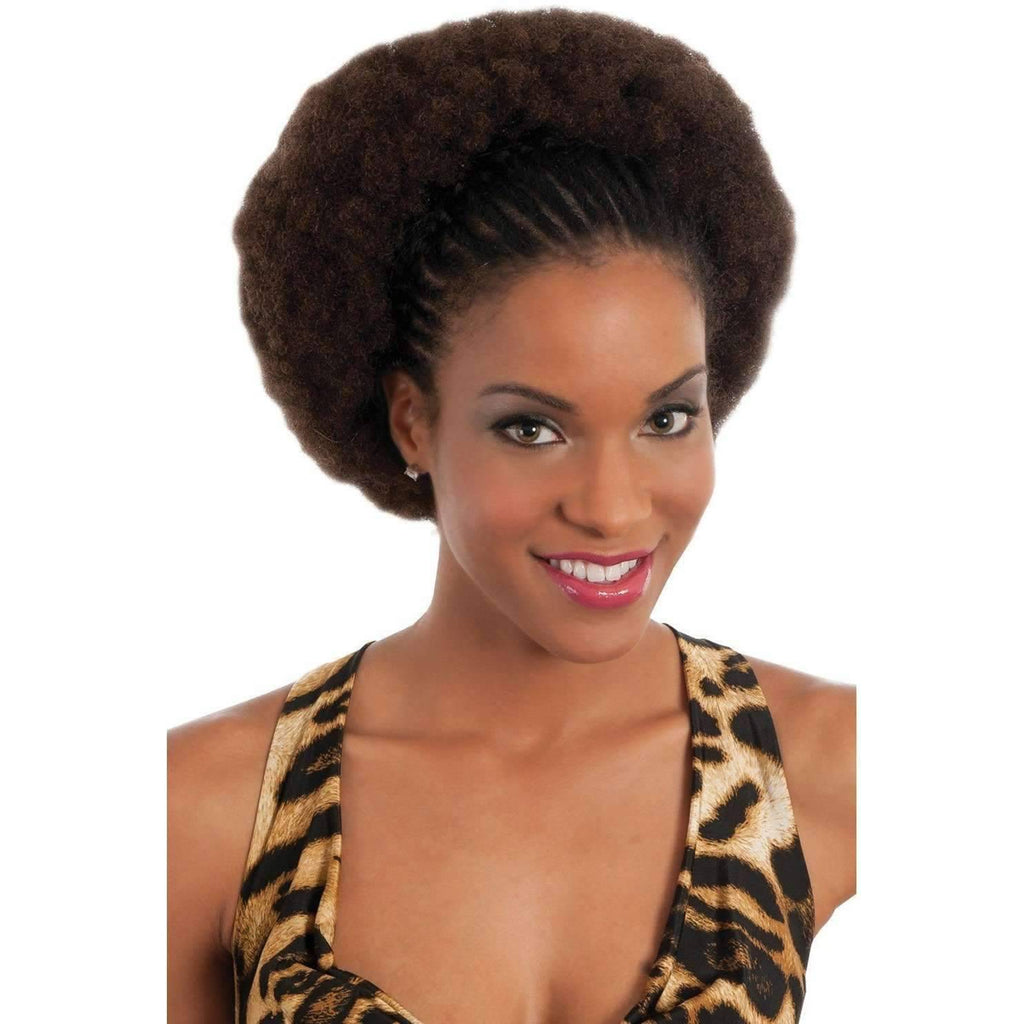 "H/H KINKY BULK | 100% Human Hair 16"" Extension (Light Mix) - African American Wigs"